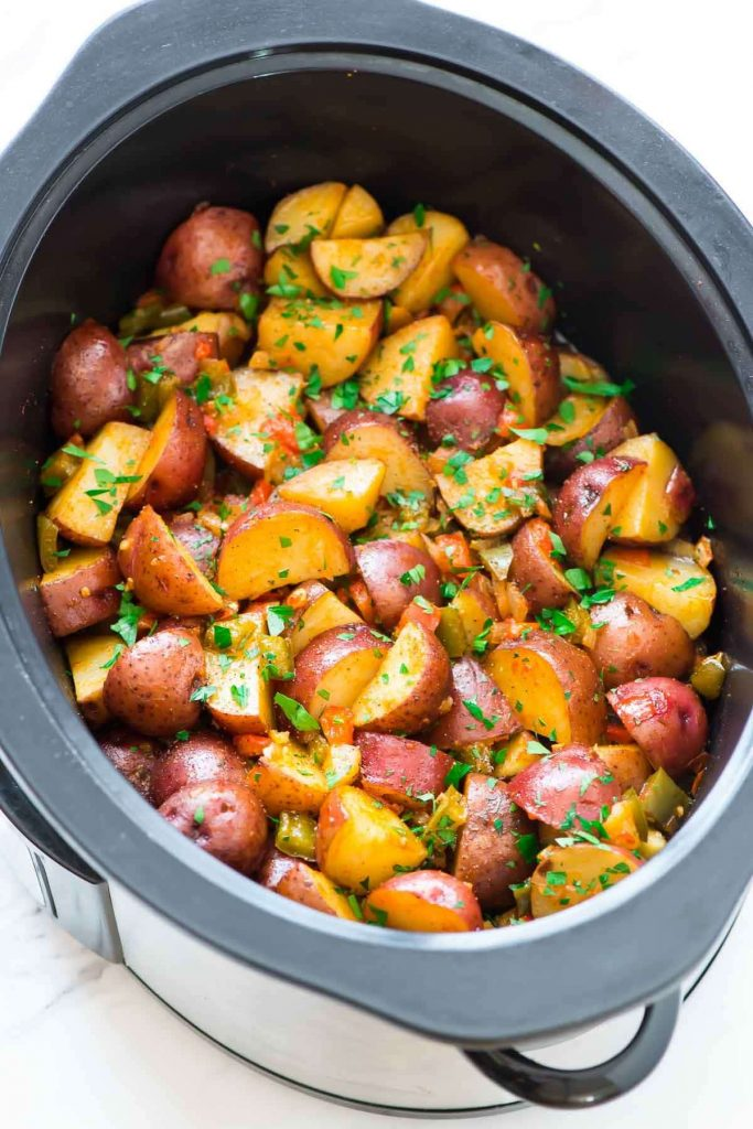 Slow Cooker Breakfast Potatoes