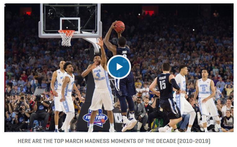 Top men's March Madness moments in the last decade